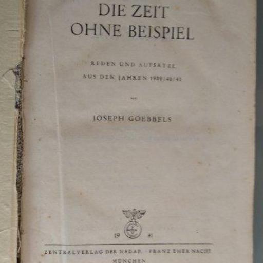 Libro Militar, Alemania / WWII [1]