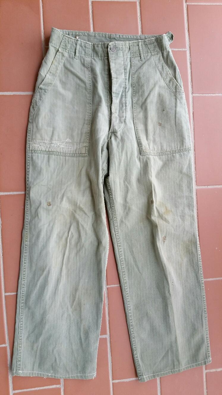 Pantalón HBT, USA / WWII
