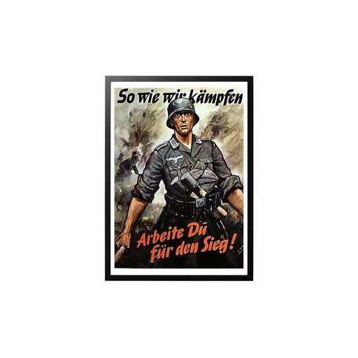 Poster Militar, Alemania / WWII