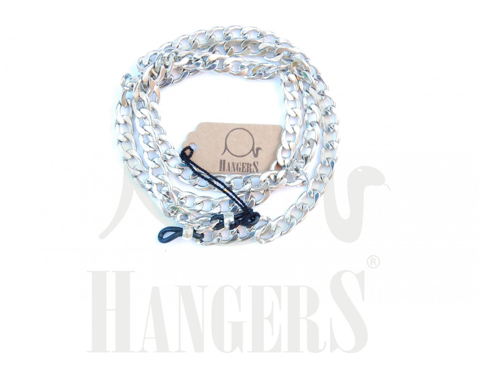 Cadena Chanel plateada