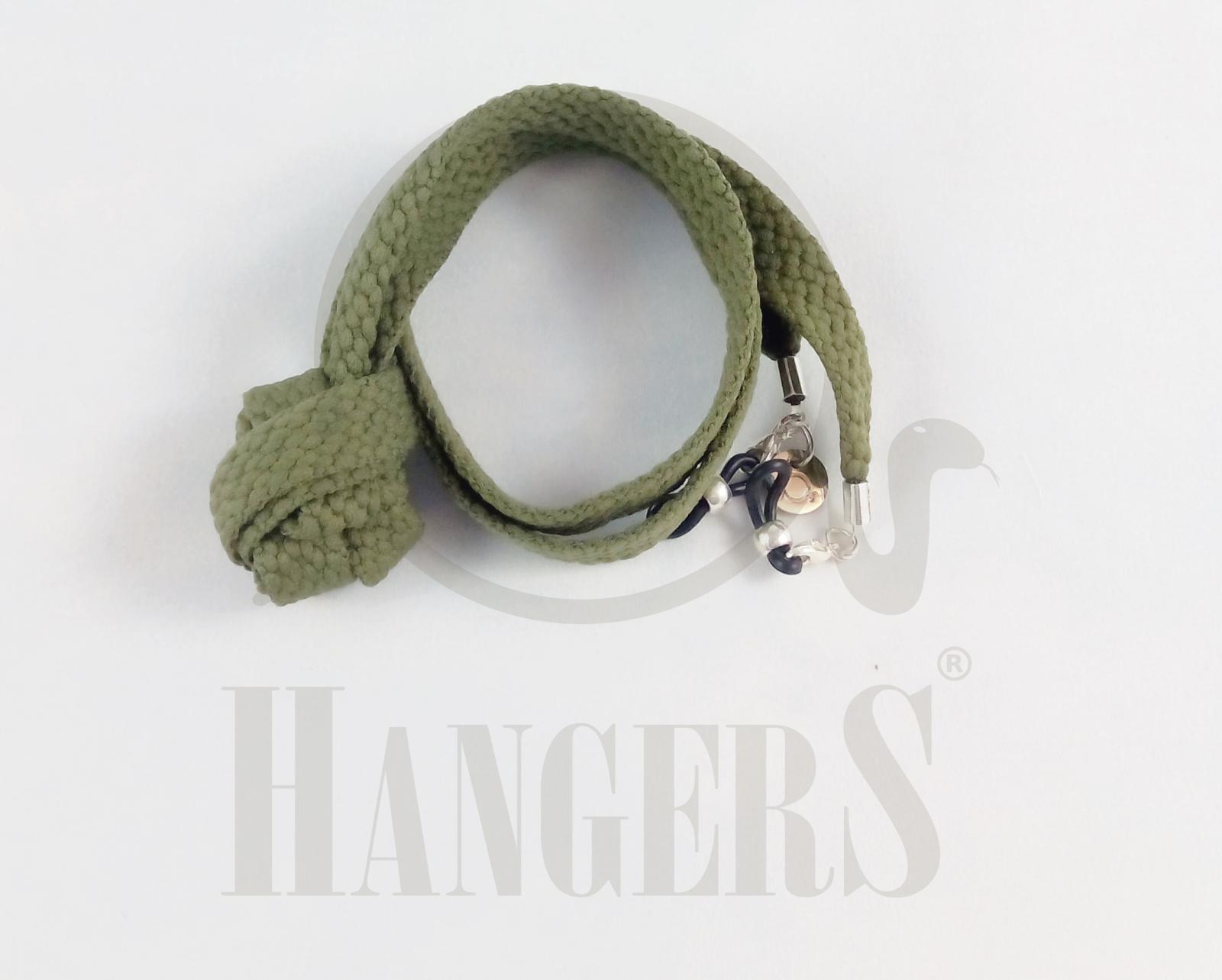 Cordón de Gafas Baqueira verde caza