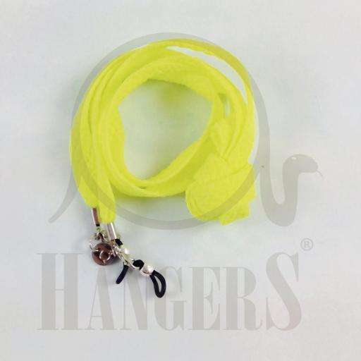 Cordón de Gafas Baqueira amarillo