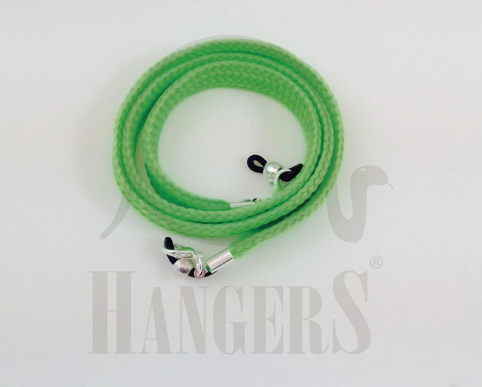 Cordón de Gafas Olimpia plano verde flúor