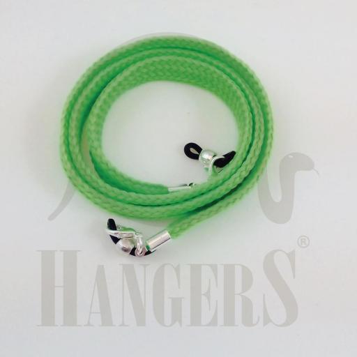 Cordón de Gafas Olimpia plano verde flúor [0]