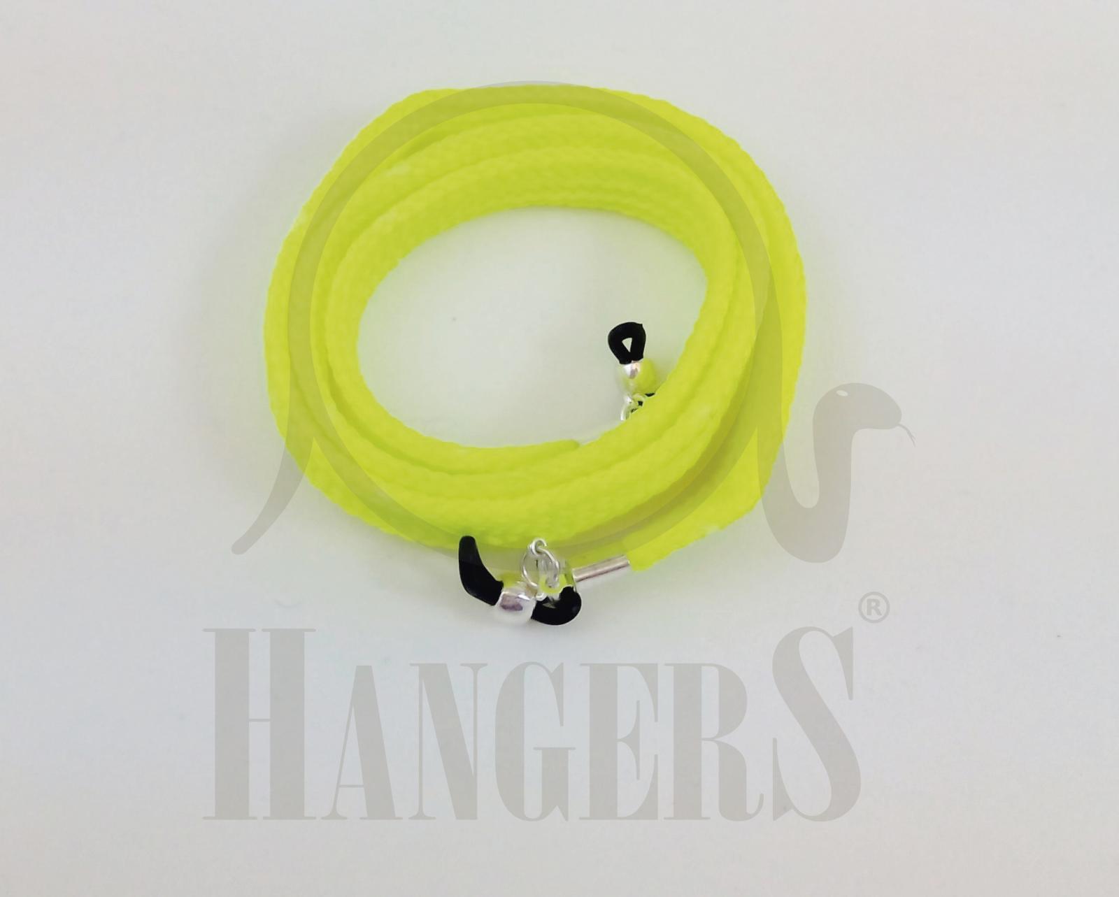 Cordón de Gafas Olimpia plano amarillo flúor