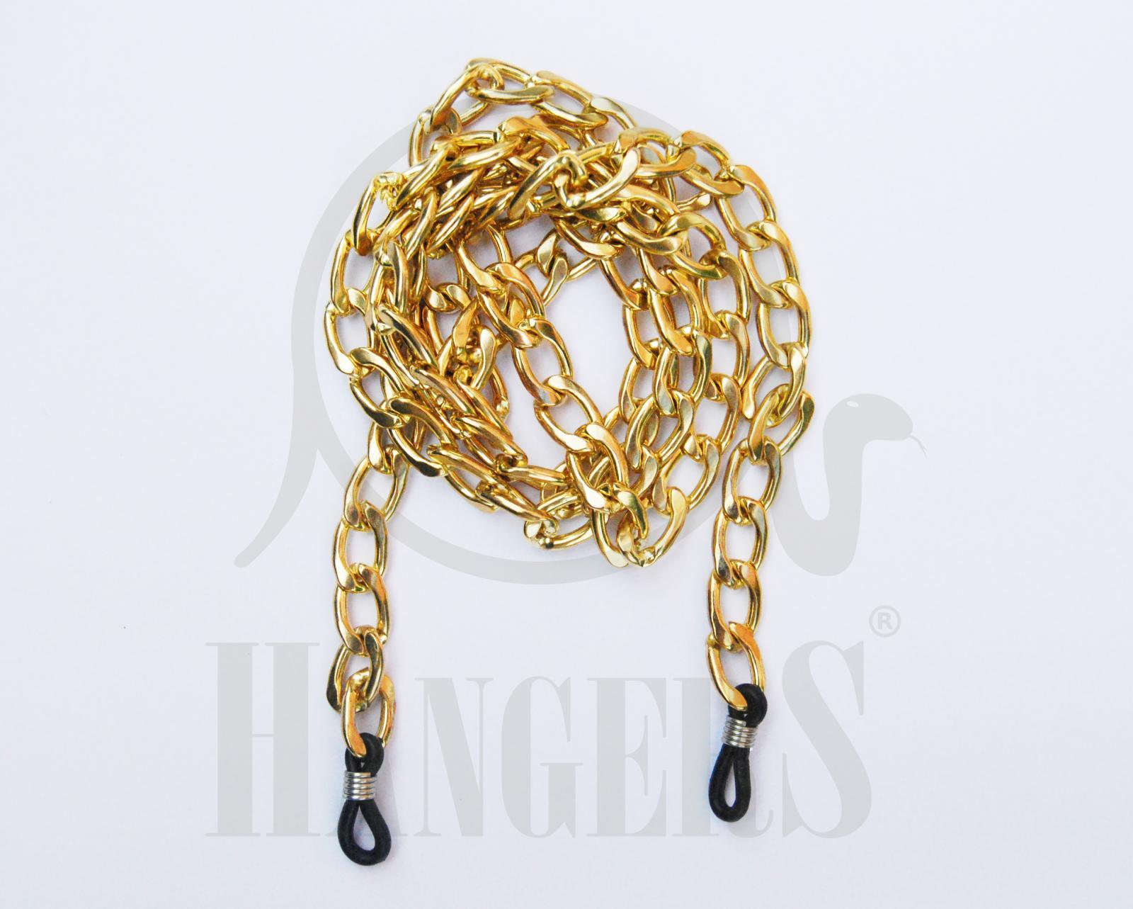 Cadena Chanel dorada