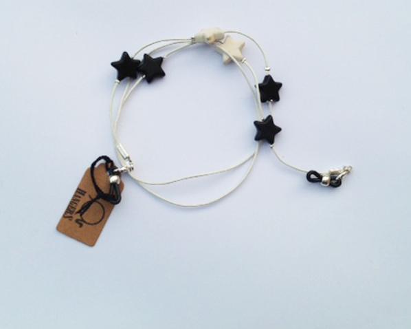 Estrellas blanco y negro