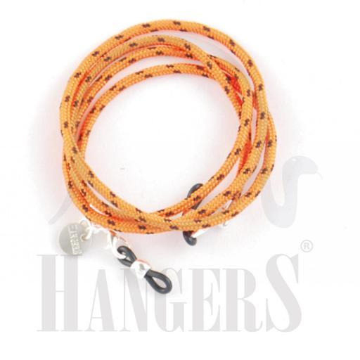 Cordón de Gafas America's Cup Naranja y Negro