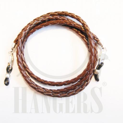 Cordón de Gafas Amsterdam marrón