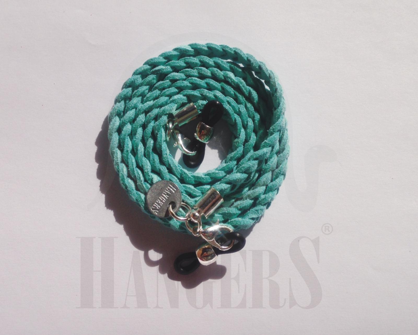 Trenza de Gafas La Haya azul turquesa