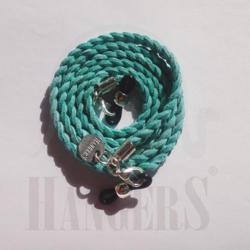 Trenza de Gafas La Haya azul turquesa [0]
