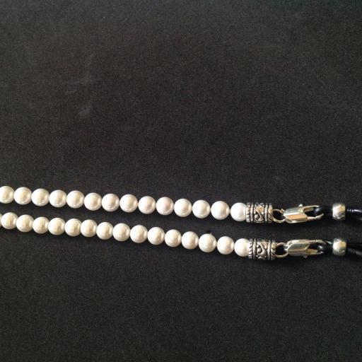 Collar para Gafas Sidney perlas grande [1]