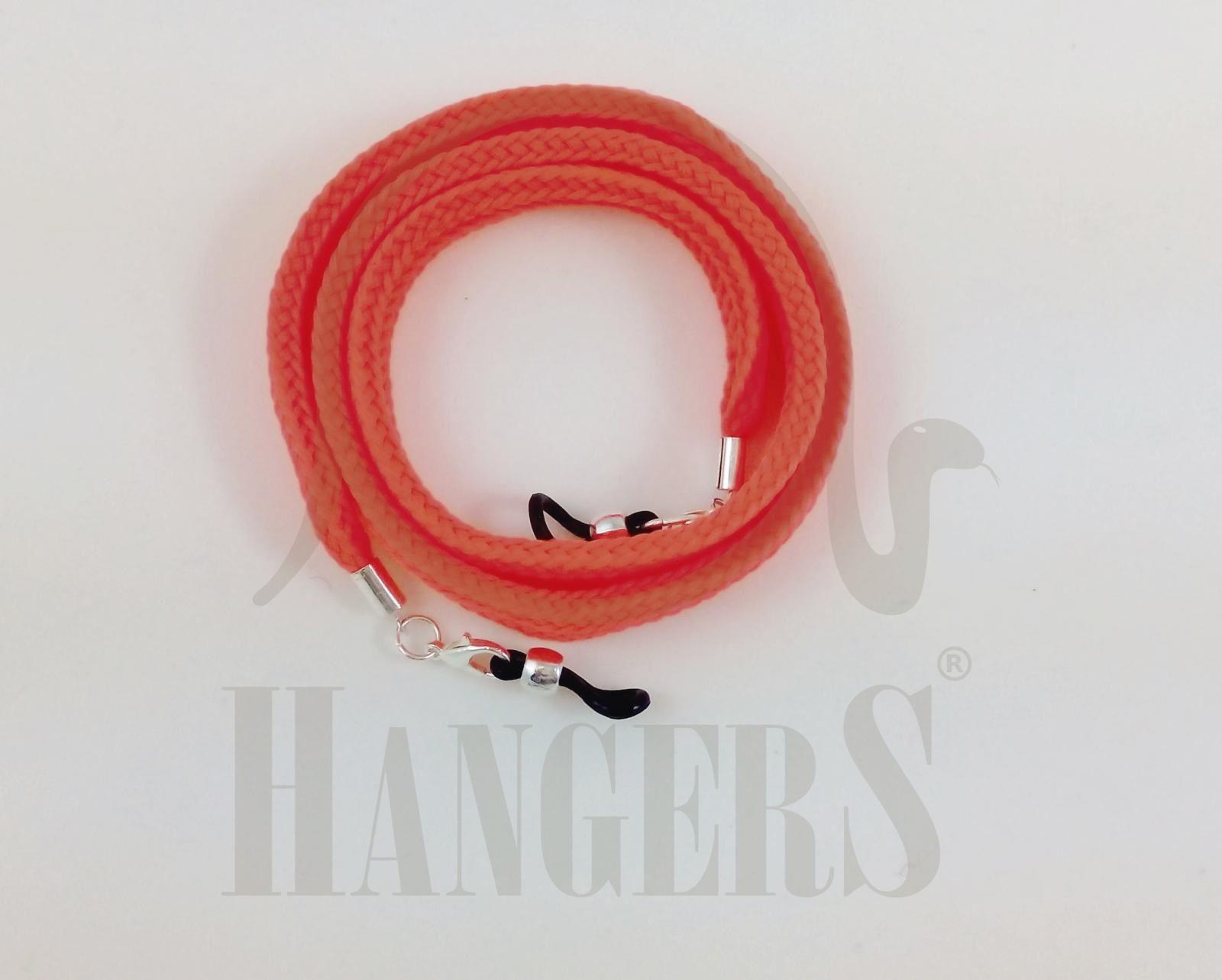 Cordón de Gafas Plano Olimpia Naranja Flúor