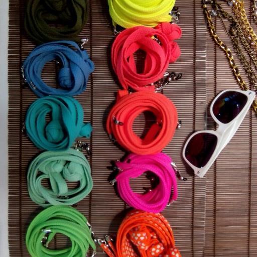 Cordón de Gafas Plano Olimpia Naranja Flúor [2]