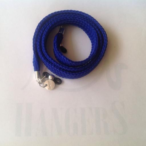 Cordón de Gafas plano Olímpia Azulón