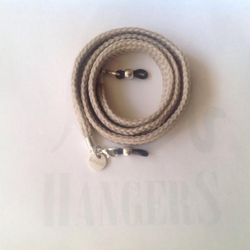 Cordón de Gafas plano Olímpia Beige