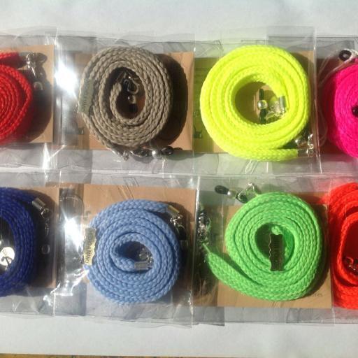 Cordón de Gafas Olimpia plano verde flúor [1]
