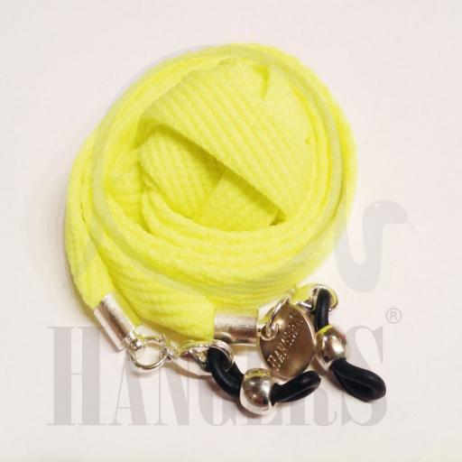 Cordón de Gafas Baqueira amarillo flúor