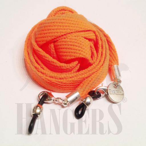 Cordón de Gafas Baqueira naranja flúor