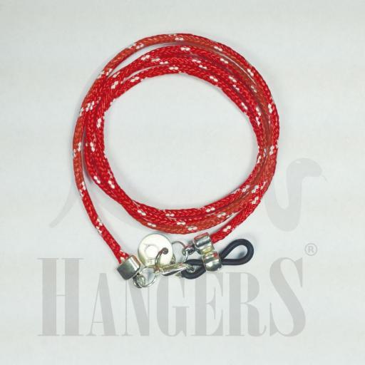 Cordón de Gafas America's Cup rojo