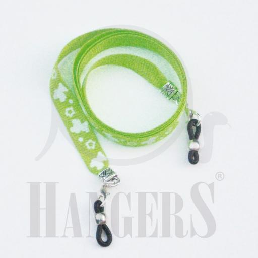Cordón de Gafas Spring verde fluor