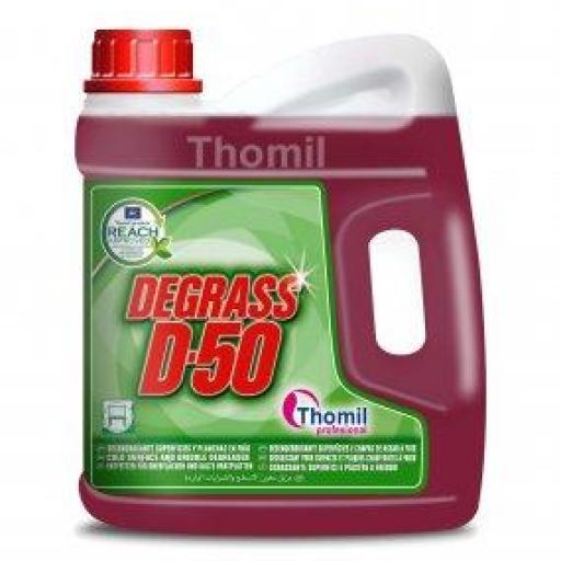 Degrass D-50  Garrafa 4,7kg