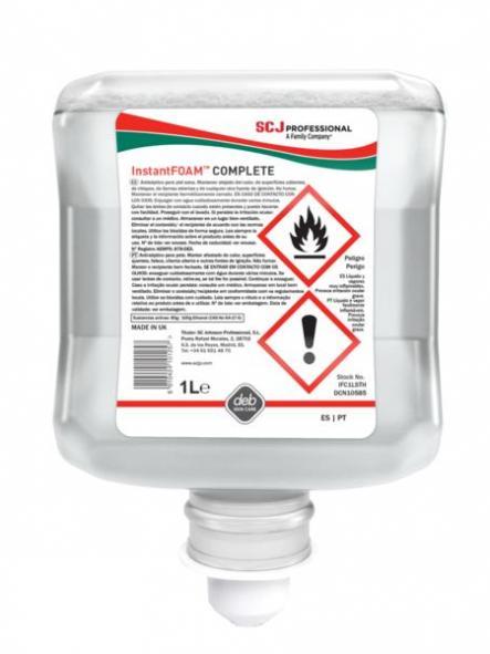 Instant foam Hand Sanitizer  1lt