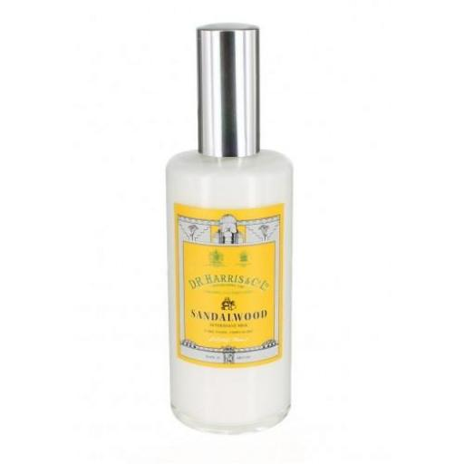 Bálsamo After Shave D.R. HARRIS SANDALWOOD AFTERSHAVE MILK