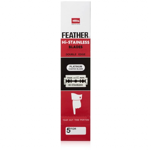 Cuchillas de Afeitar FEATHER HI-STAINLESS