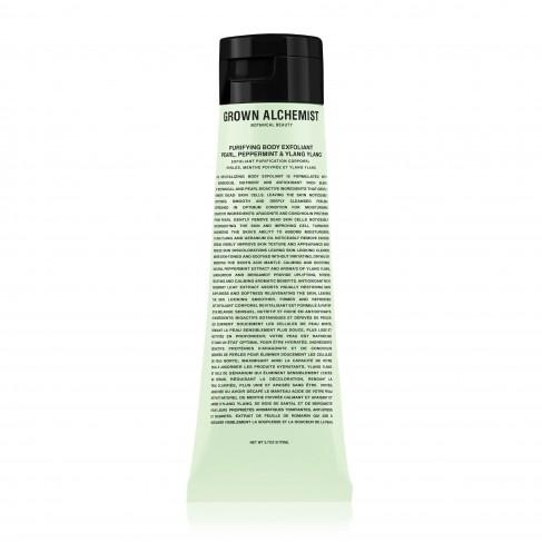 Exfoliante Corporal Purificante GROWN ALCHEMIST PURIFYING BODY EXFOLIANT PEARL, PEPPERMINT & YLANG YLANG