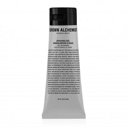 Gel de Afeitado GROWN ALCHEMIST SHAVING GEL SANDALWOOD & SAGE