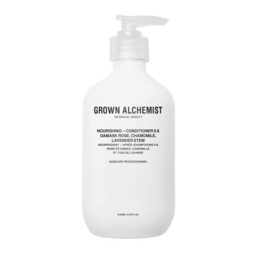 Acondicionador Nutritivo 0.6 GROWN ALCHEMIST CONDITIONER DAMASK ROSE, CHAMOMILE & LAVENDER STEM