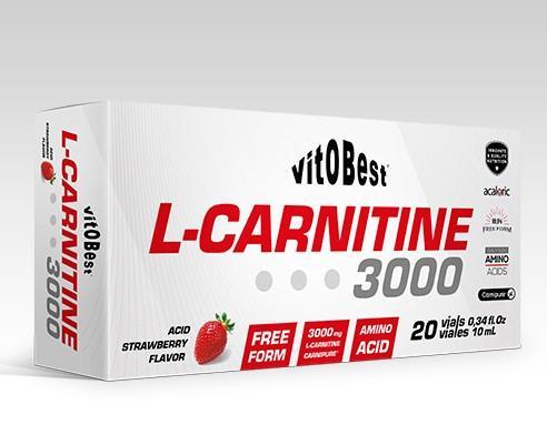 L-CARNITINE 3000 10ML VIALES