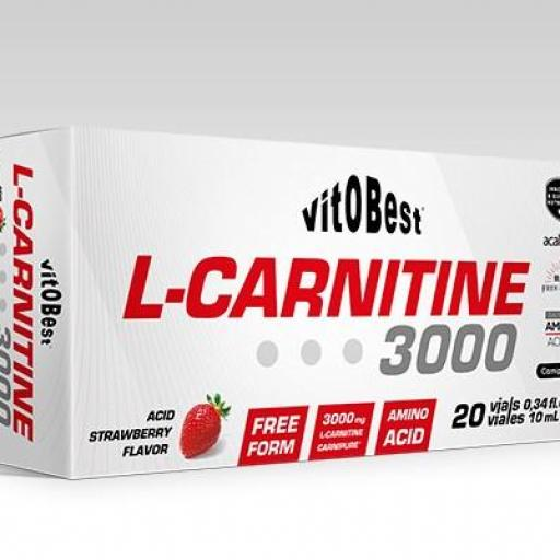 L-CARNITINE 3000 10ML VIALES