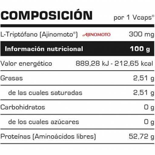 L-TRYPTOPHAN 60 VCAPS. [1]