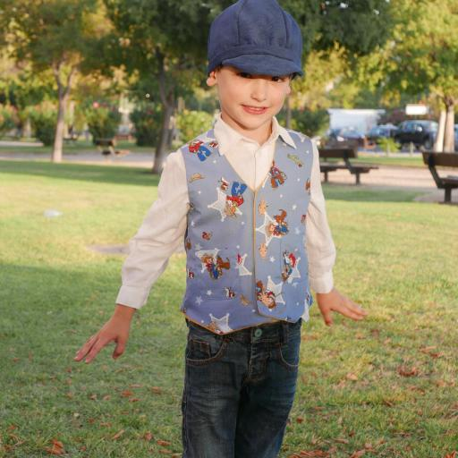 Chaleco reversible Western Boy [3]