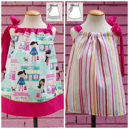 Vestido Niña Pillowcase [2]