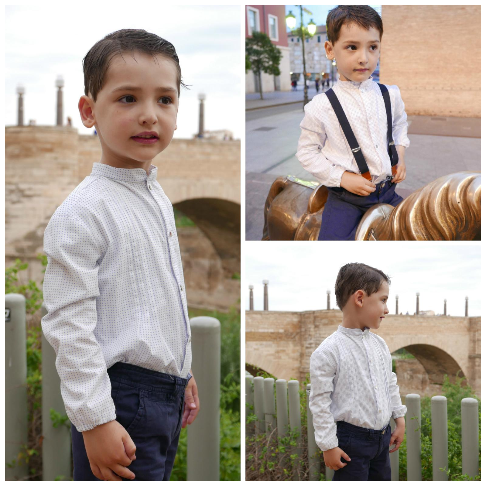 Camisa niño mod. Gabriel