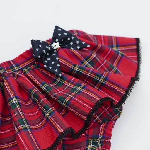 Cubrepañal y Bombacho con falda para bebés y niñas [2]