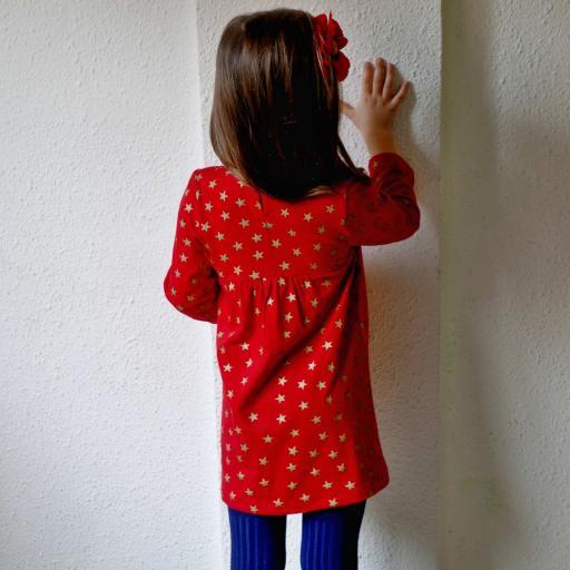 Vestido y blusa niña Stars [1]