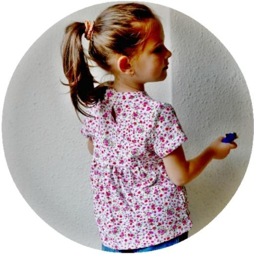 Vestido y blusa niña Stars [3]