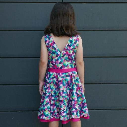 Vestido niña mod. Rachel [2]