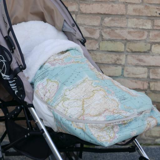 Saco universal  carrito bebé y Bolso [3]