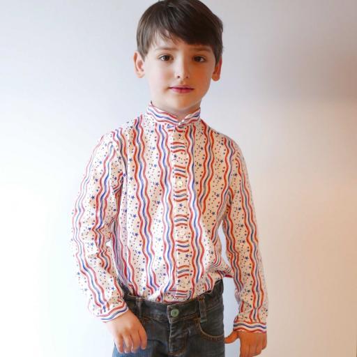Camisa niño Walker Talla 5