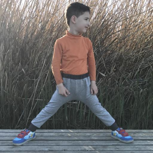 Pantalones Harem unisex [1]