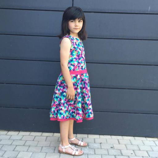 Vestido niña mod. Rachel [1]