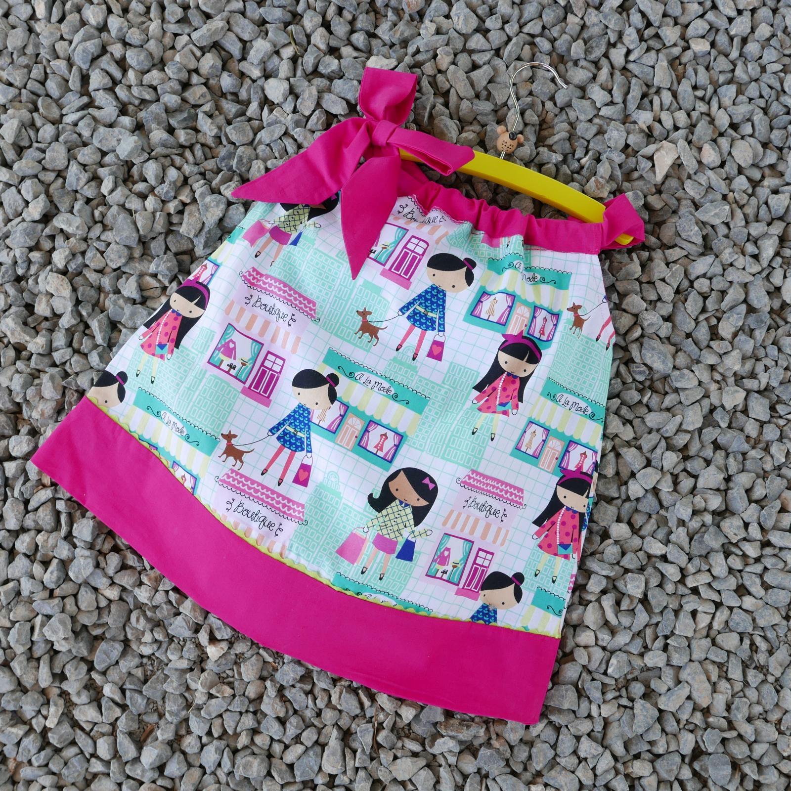 Vestido Niña Pillowcase