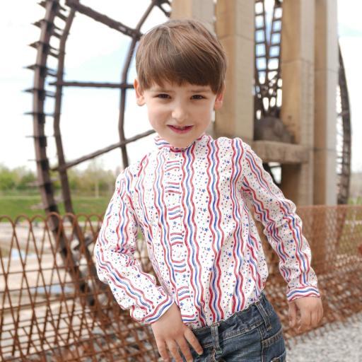 Camisa Niño mod. Walker