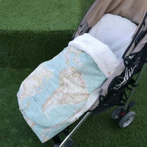 Saco universal  carrito bebé y Bolso