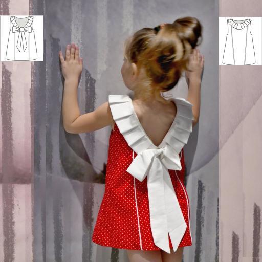 Vestido Niña con Lazo
